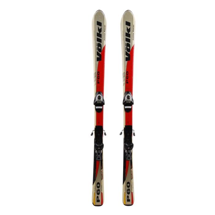 Ski occasion junior Volkl P60 - bindings