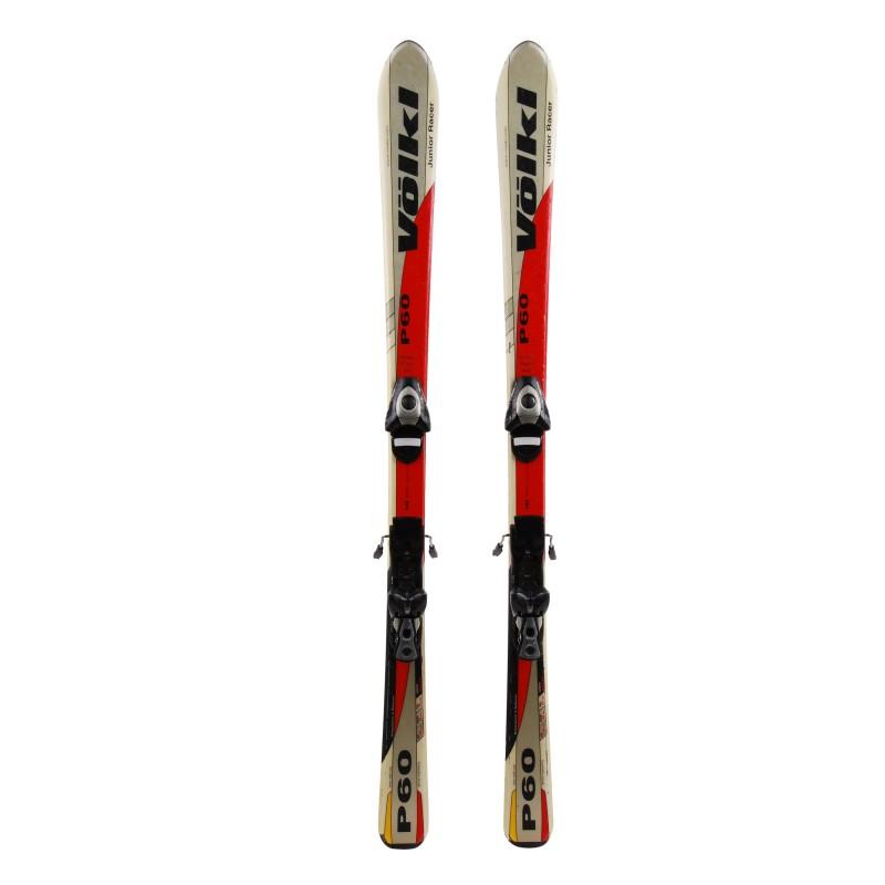 Ski occasion junior Volkl P60 Qualité A + fixations