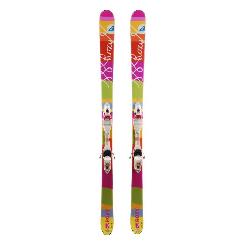 Ski Roxy + Ski Bindungen