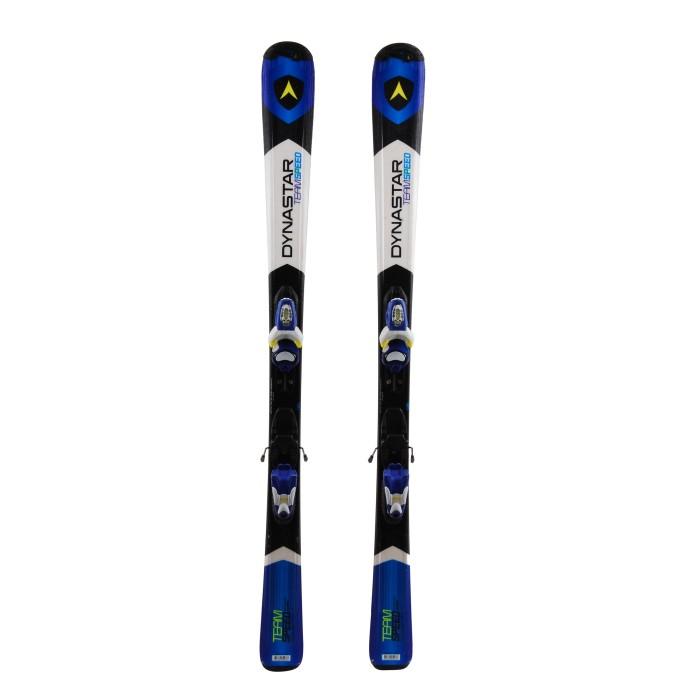 Junior ski Dynastar Team speed blue / white / black + Bindings