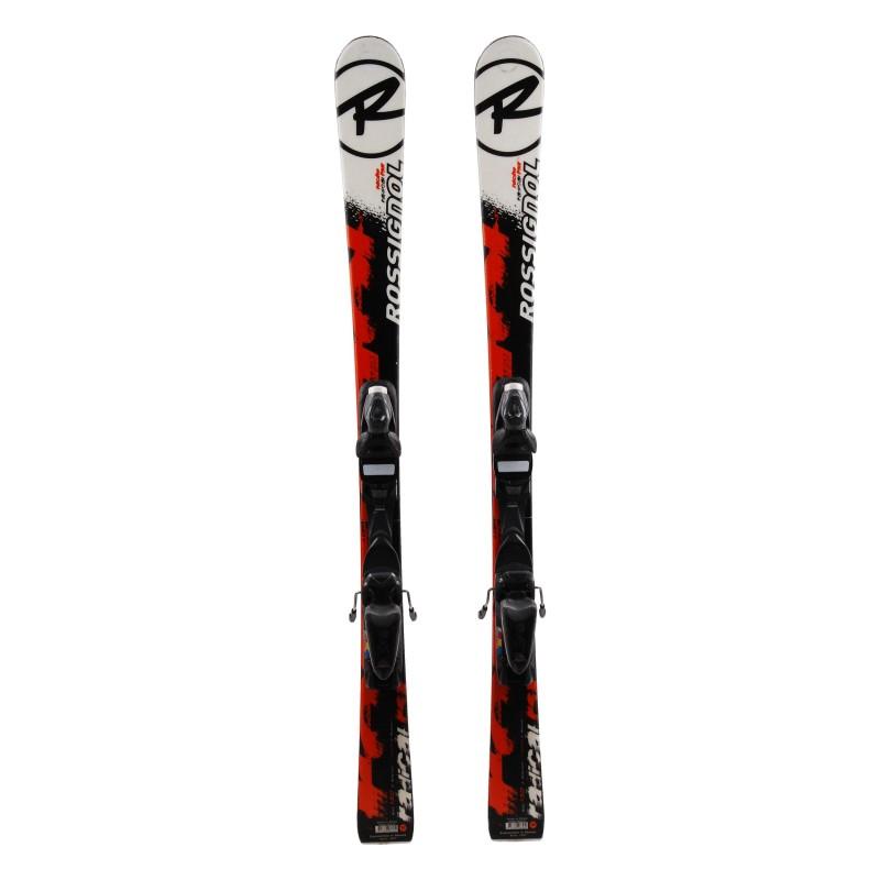 Ski occasion junior Rossignol Radical RSX Qualité A + fixations
