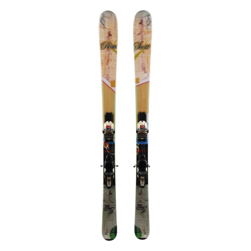 Scott Rosa Pre-Owned Ski + Bindungen