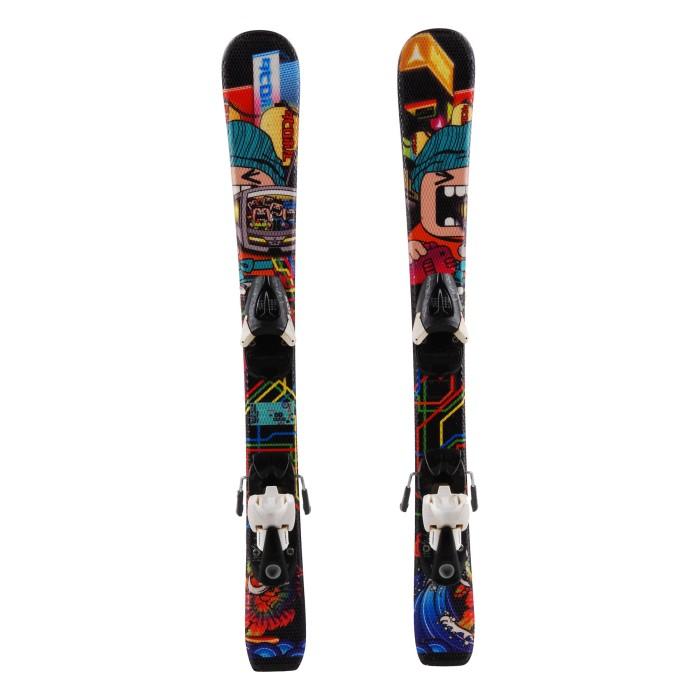 Ocasión de esquí junior ganscal atómico - fijaciones
