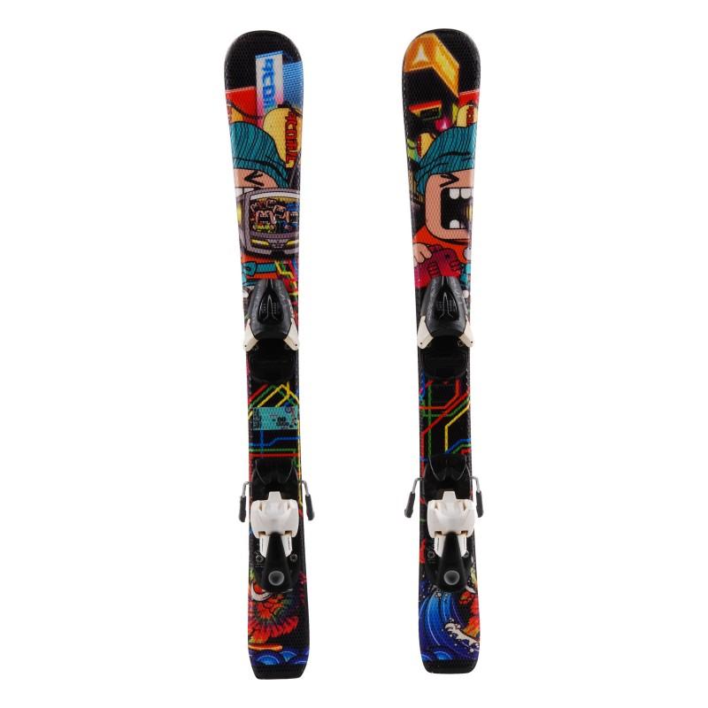 Junior ski Atomic rascal Petit Monstre + bindings