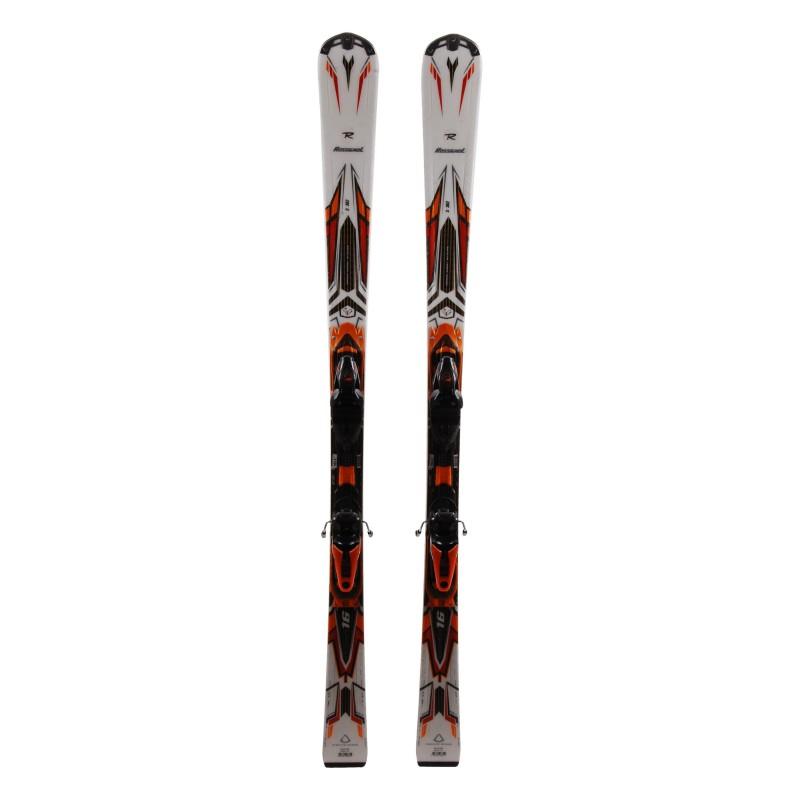 Ski Rossignol Pursuit 16 Blanc orange + bindings