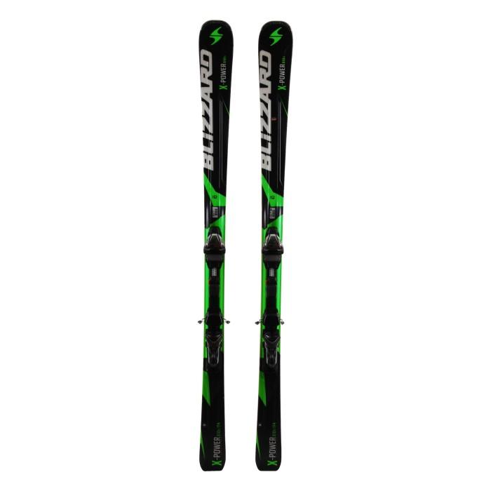 Ski Blizzard X/Power 810 Ti ocasión - fijaciones