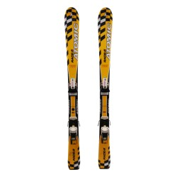 Junior ski Atomic Race 5 yellow + bindings