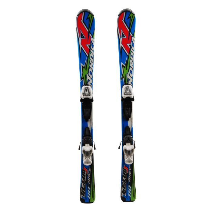 Ski occasion junior Nordica Team J Race - bindings