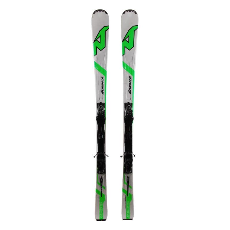 Ski Nordica Hell zurück AVENGER 75 CA + Bindungen