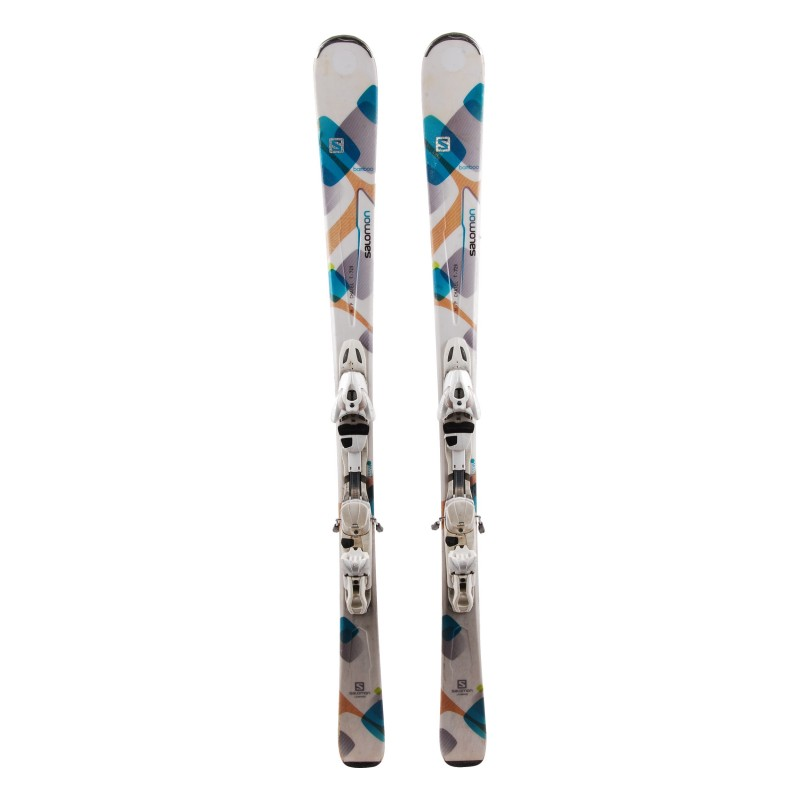 Ski occasion Salomon Bamboo Qualité A + fixations