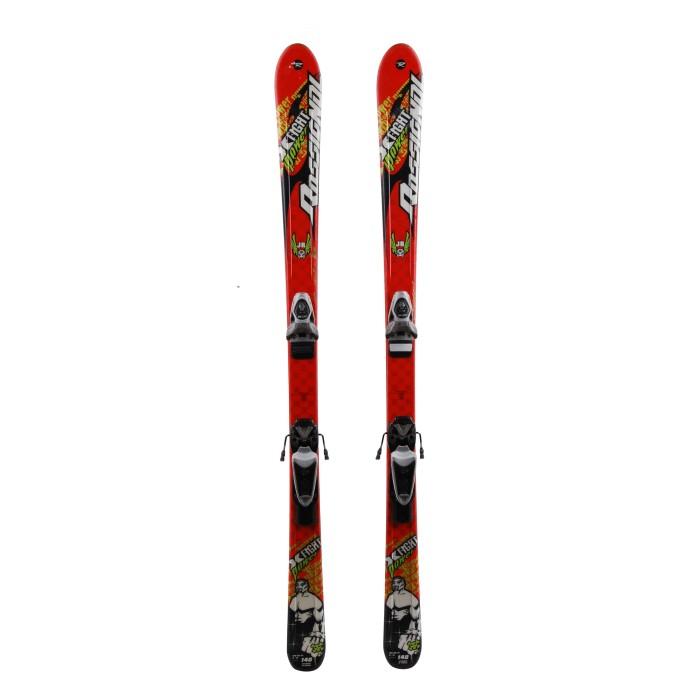 Ski occasion junior Rossignol xfight Power - bindings