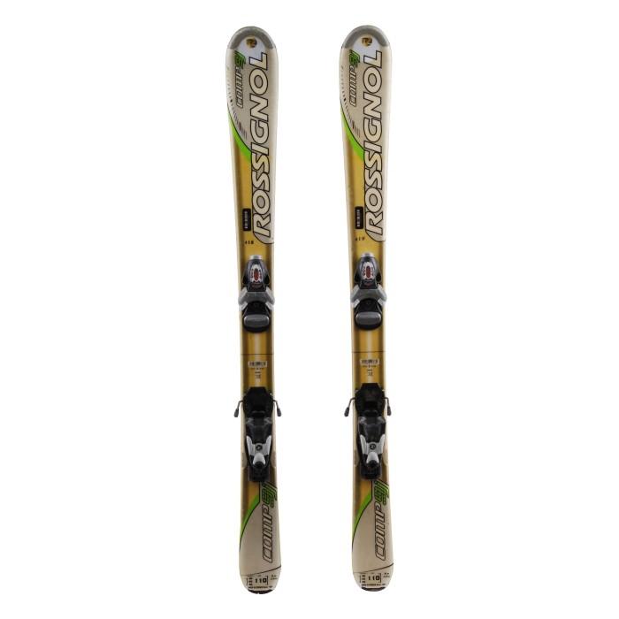 Junior ski Rossignol Comp J / 9J + bindings