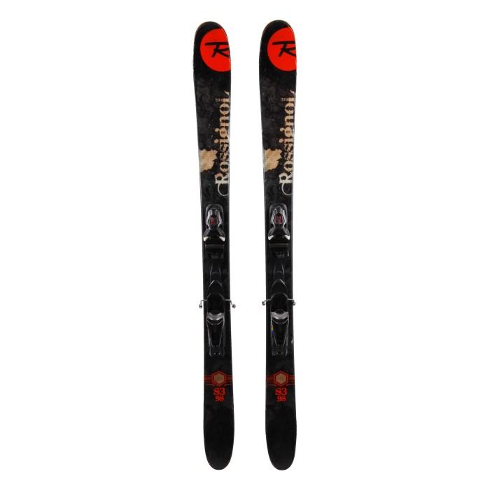 Ski occasion Rossignol S3. 98 + fixations