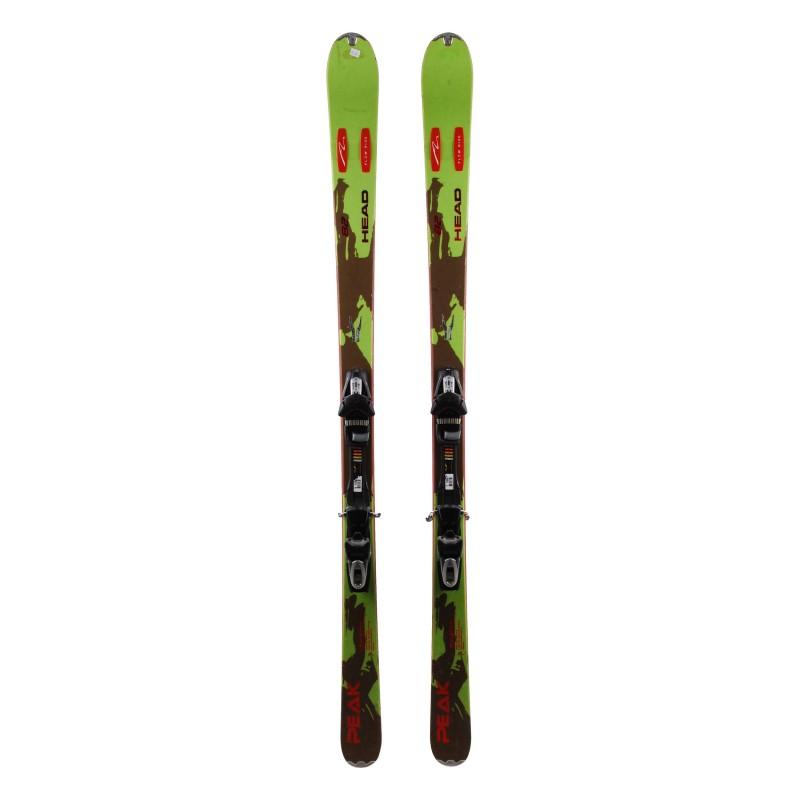 Ski occasion Head Peak 82 Qualité A + fixation