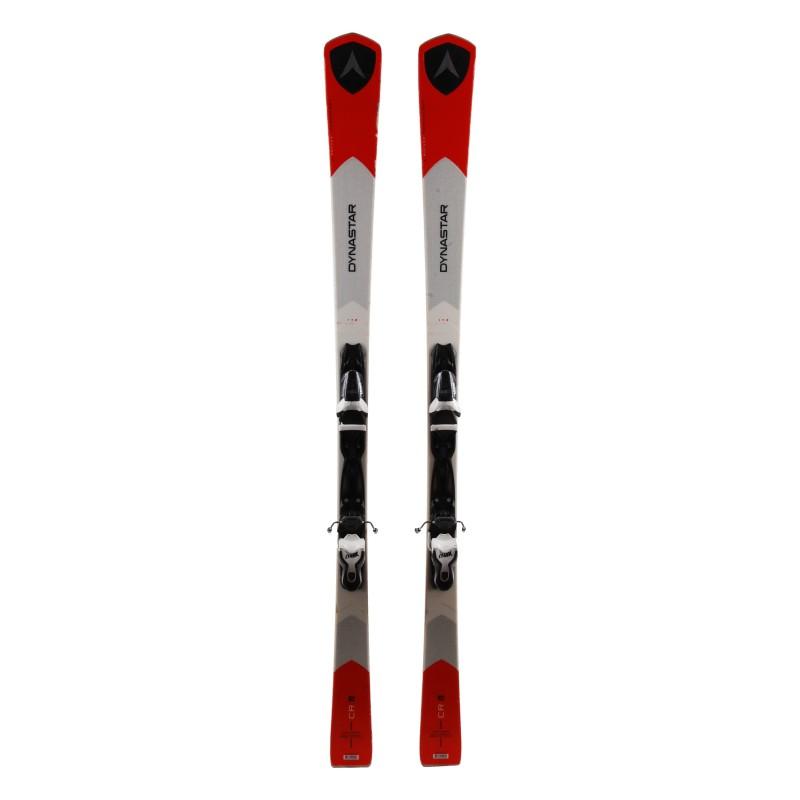 Dynastar CR 72 weiß rot gebrauchte Ski + Bindungen