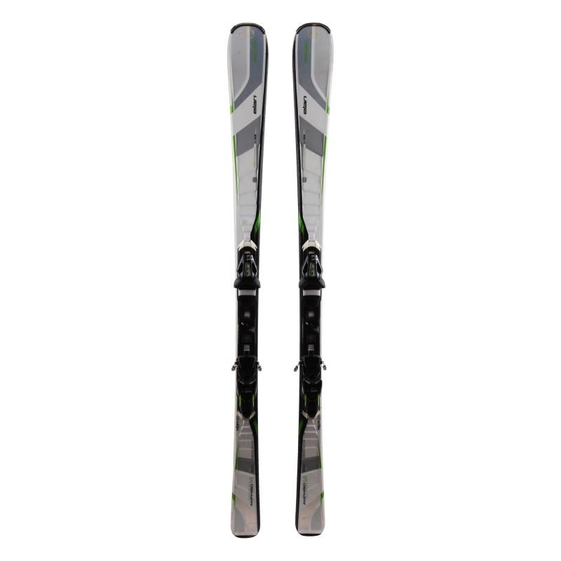 Ski occasion Elan Amphibio 14 xti Qualité A + Fixations