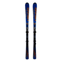 Ski Head XRC 800 blue + bindings