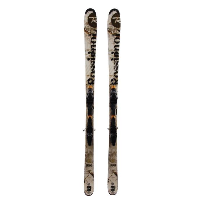 Ocasión de esquí Rossignol S80 - fijaciones