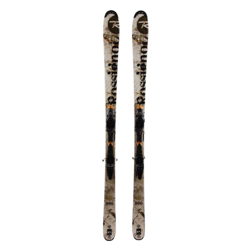Rossignol S80 usó esquí + fijaciones