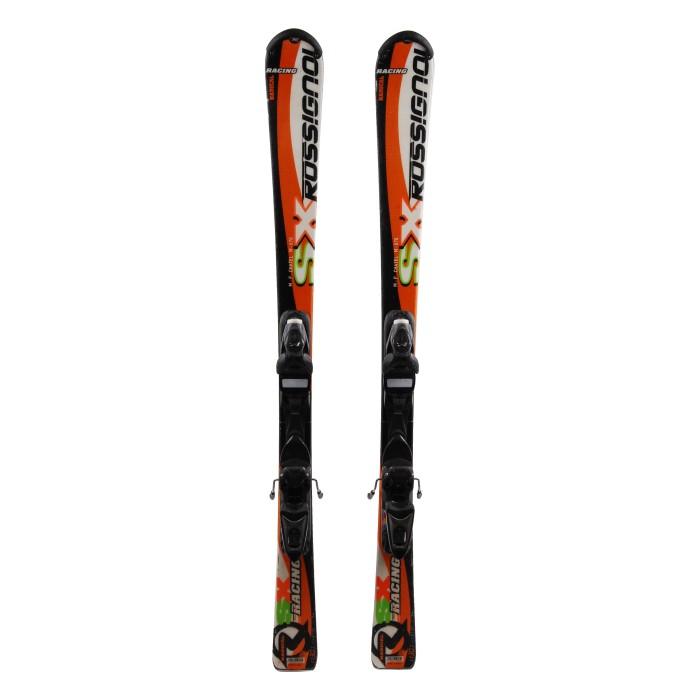 Ocasión de esquí junior Rossignol SX Radical Racing - fijaciones