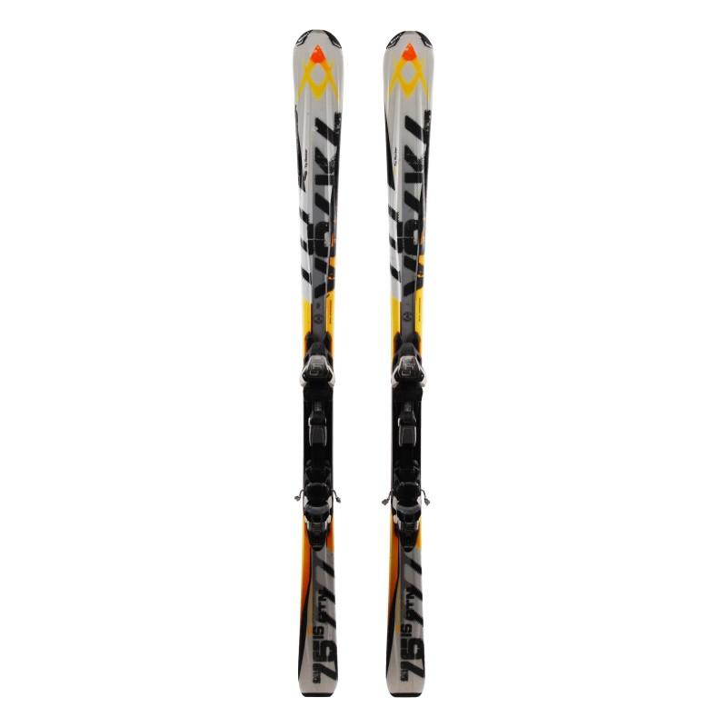 Ski verwendet Volkl RTM grün + Bindungen