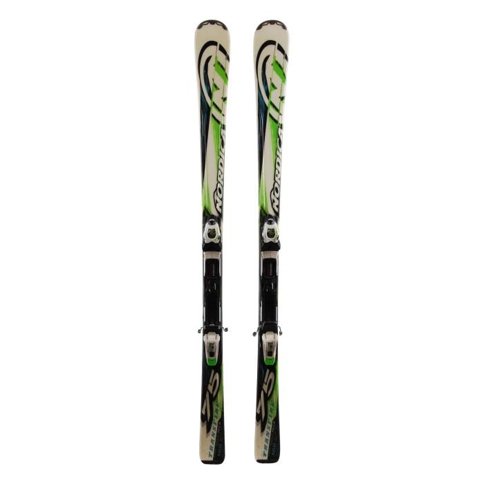 Ski occasion Nordica Transfire 75 + fixations