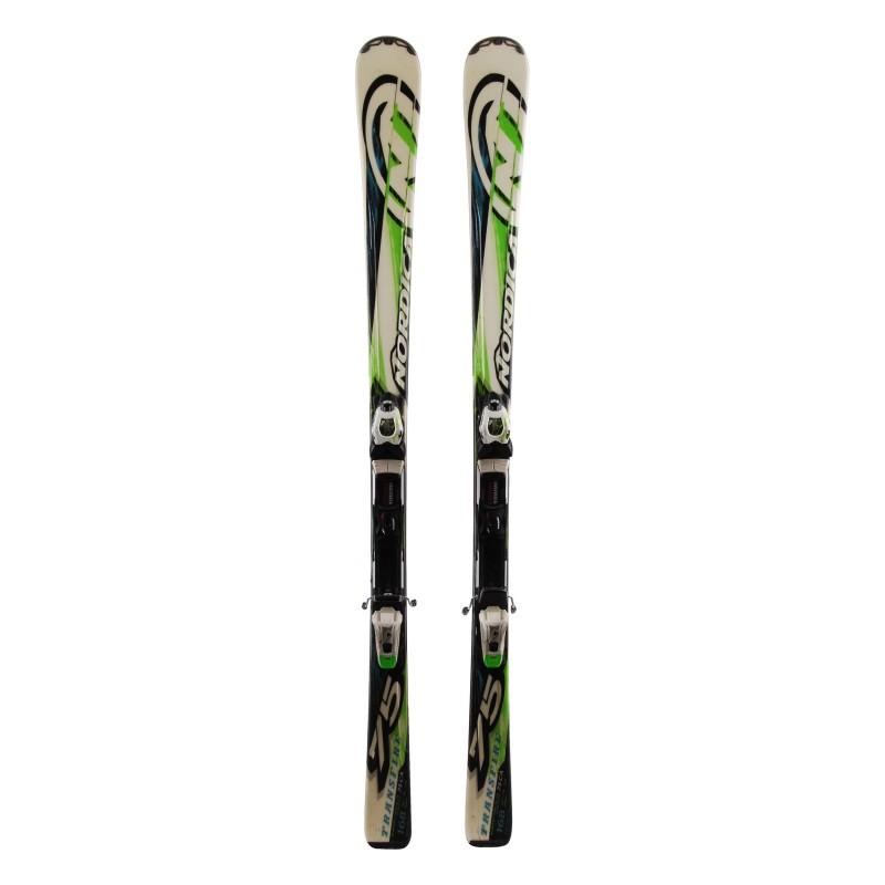 Ski Nordica Transfire 75 grün weiß + Bindungen