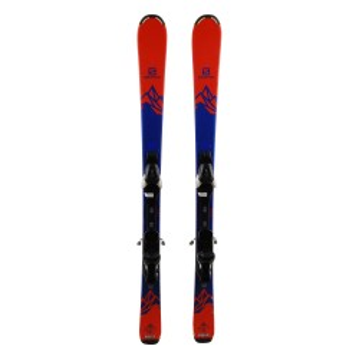 Junior Ski Salomon Q lux + bindings