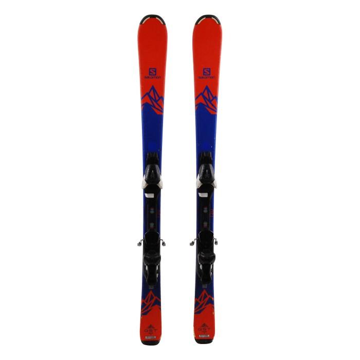 Ocasión de esquí Salomon junior QST MAX - fijaciones