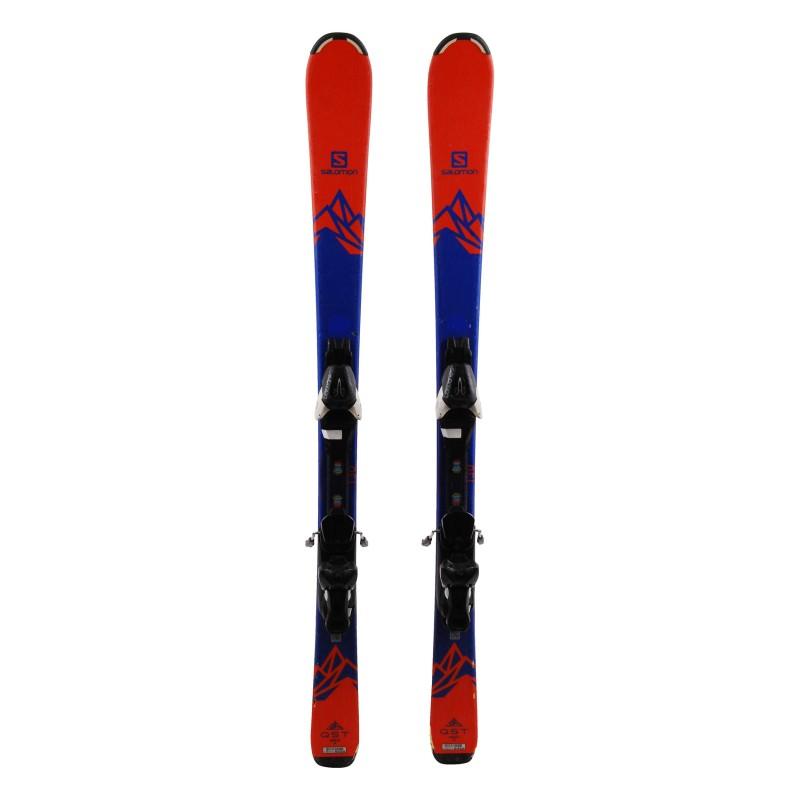 Ski occasion Salomon junior QST MAX Qualité B + fixations