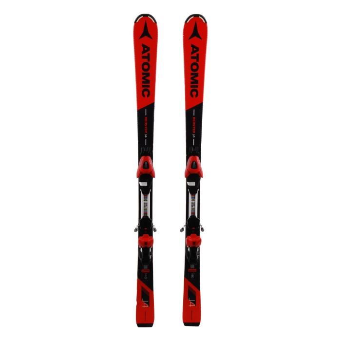 Junior ski Atomic Redster J4 black / red 2nd choice + Bindings