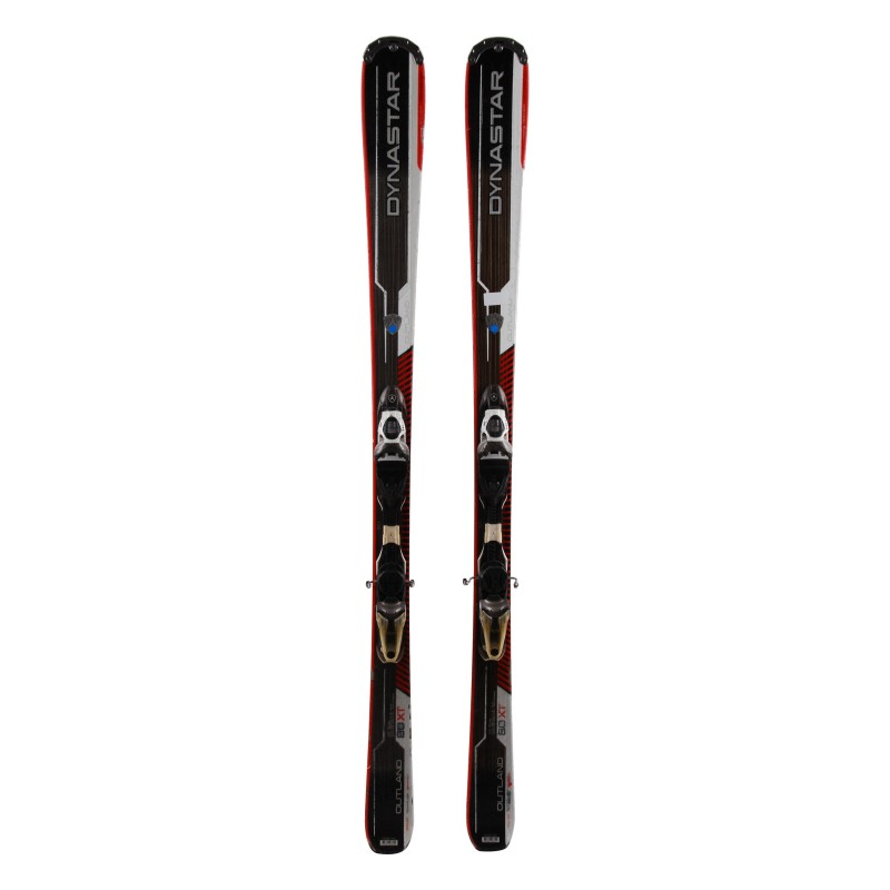 Gebrauchter Dynastar Outland 80 XT red ski + Bindungen