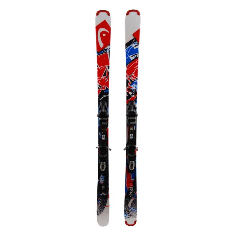 Ski Head Residue + bindings
