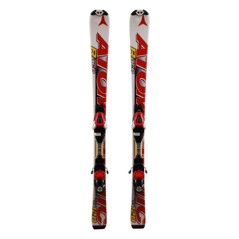 Ski junior Atomic Race white / red 2nd choice + Bindings