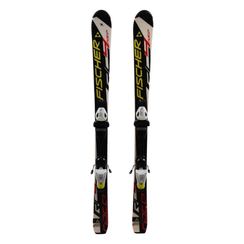 Ski occasion junior Fischer Race RC4 Qualité A + fixations