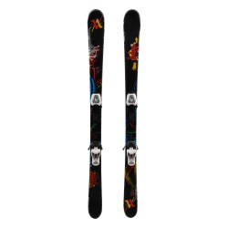 Volkl Ledge Black junior ski + bindings