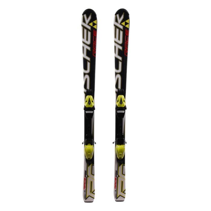 Junior Fischer Race Junior Ski Black + bindings