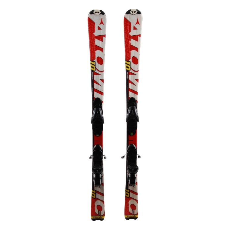 Ski occasion junior Atomic race 7/8/9/10 Qualité A + fixations