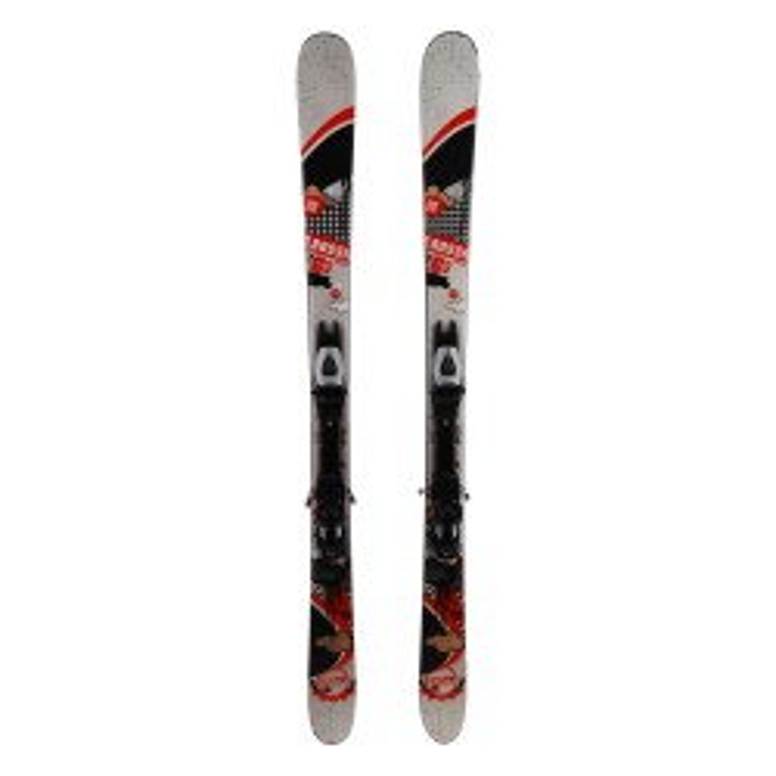 Ocasión de esquí Junior Rossignol Scratch GHTO Pro - fijaciones