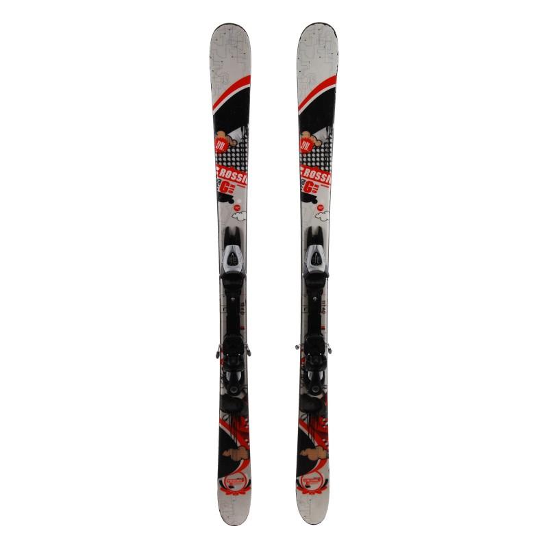 Junior Ski Rossignol Scratch FS Kaki + Bindungen
