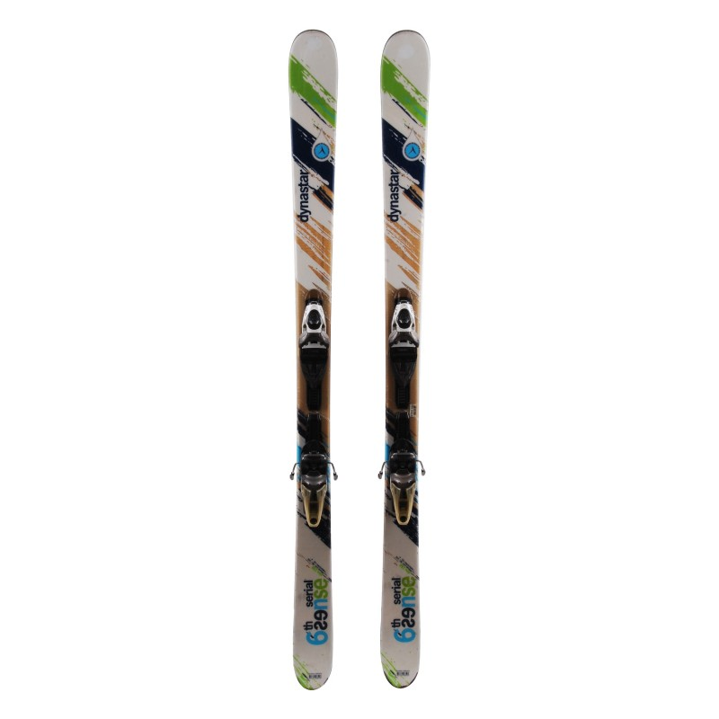 Ski verwendet Dynastar 6th Sense Serial + Fixierungen