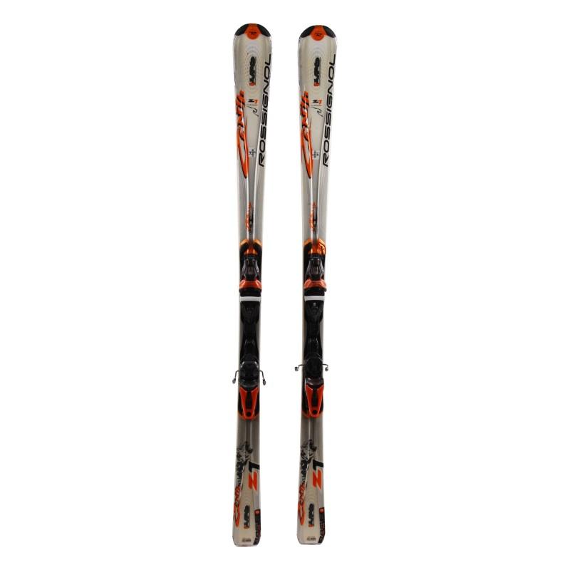 Ski verwendet Rossignol Z1 Oversize + Bindungen