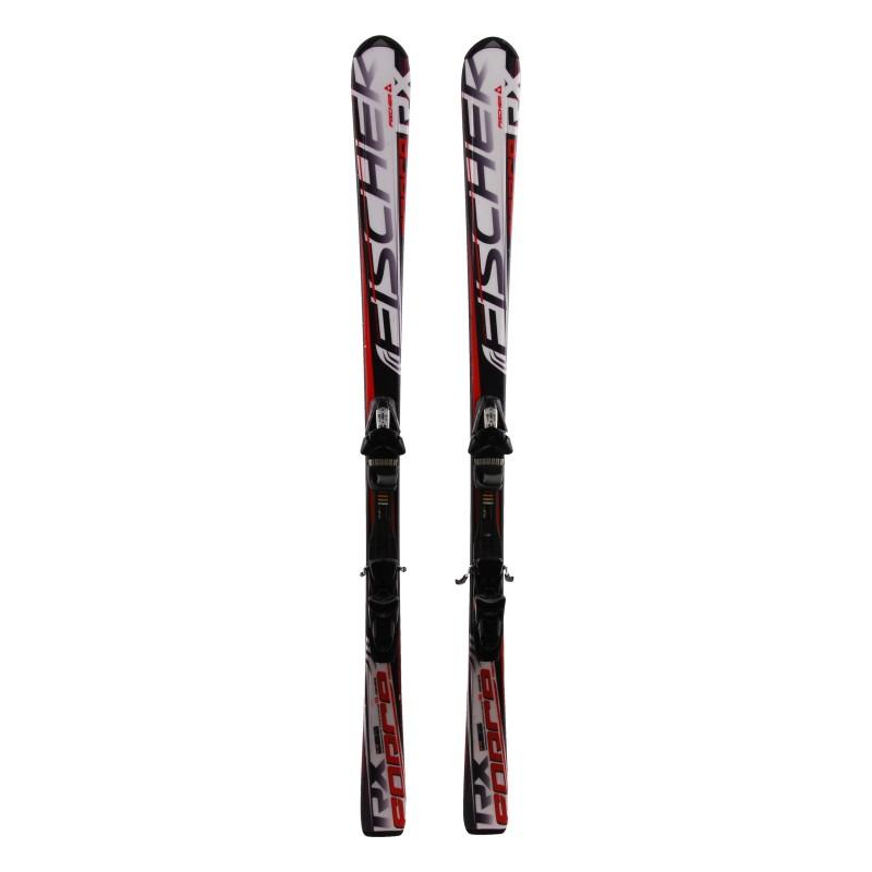 Fischer RX ski + fijaciones usados