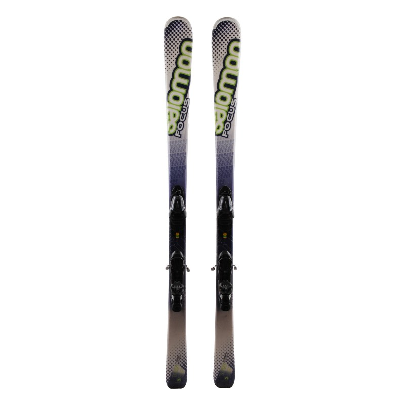 Ski Salomon Focus green + Bindungen