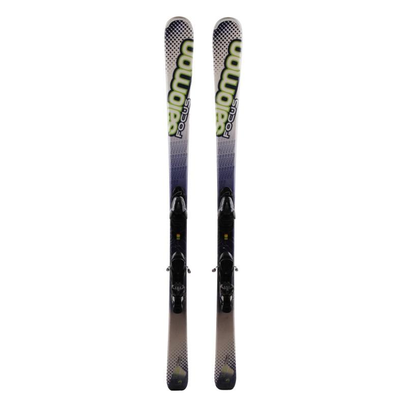 Ski Salomon Focus green + bindings