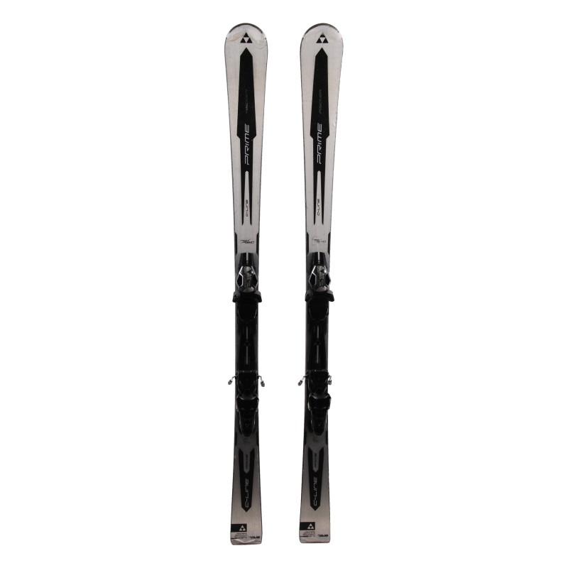 Used Fisher C line Prime SC + ski bindings