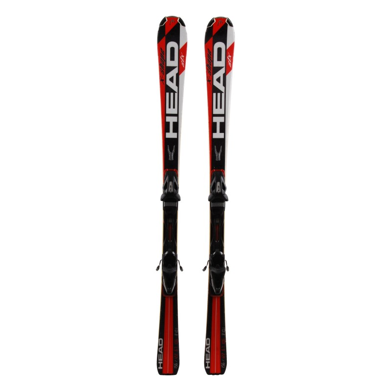 Gebrauchter Ski Head X-Shape STX + Bindungen