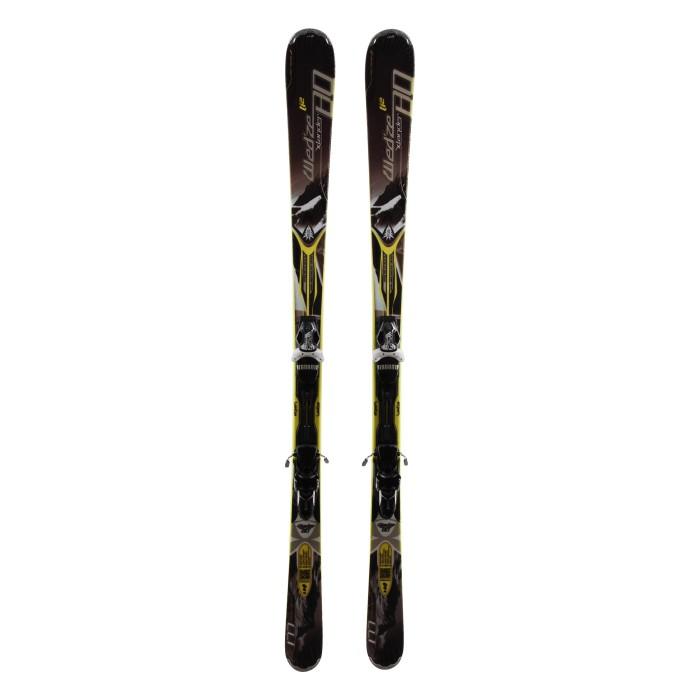 Ski occasion Wedze Xlander 80 + fixations