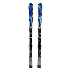 Used ski Salomon X Wing 500 blue 2nd choice + bindings