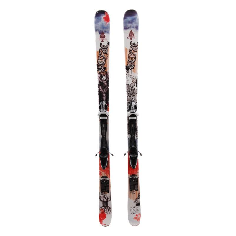 Verwendet Ski Wedze Twintricks Pro Team + Bindungen